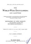 The World-wide Encyclopedia and Gazetteer