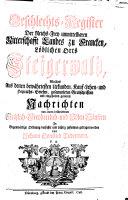 Pdf Geschlechts-Register Der Reichs-Frey unmittelbaren Ritterschafft Landes zu Francken, Löblichen Orts Steigerwald