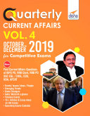 Quarterly Current Affairs Vol. 4 - October to December 2019 for Competitive Exams Pdf/ePub eBook