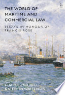 The World of Maritime and Commercial Law