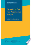 Dynamics in One Non Archimedean Variable