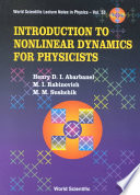Introduction to Nonlinear Dynamics for Physicists Book