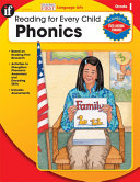 Phonics, Grade 1 Pdf/ePub eBook
