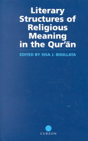 Literary Structures of Religious Meaning in the Qur'ān