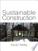 Sustainable Construction Book PDF