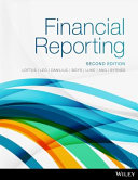 Cover of Financial Reporting 2E Print on Demand (Black and White)