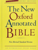 The New Oxford Annotated Bible  Augmented Third Edition  New Revised Standard Version Book