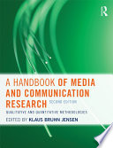 A Handbook Of Media And Communication Research Book