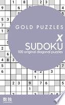 Gold Puzzles X Sudoku Book 2