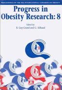 Progress In Obesity Research 8 Book PDF