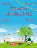 Seasons Coloring Book