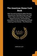 The American Home Cook Book Book PDF