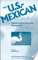 The U S Mexican Border Environment Book PDF