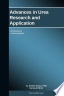 Advances In Urea Research And Application 2013 Edition Book PDF