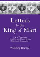 Letters to the King of Mari [Pdf/ePub] eBook