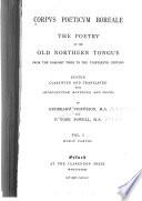 Corpus Poeticum Boreale  Eddic poems Book