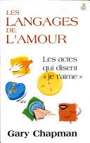 Les langages de l'amour ebook