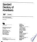 Standard Directory of Advertisers