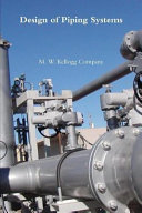 Design of Piping Systems Book
