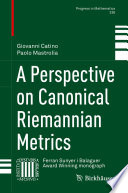 A Perspective on Canonical Riemannian Metrics.epub