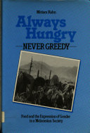 Always Hungry, Never Greedy