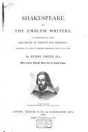 Shakespeare and the Emblem Writers ebook