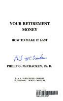 Your Retirement Money