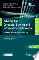 Advances in Computer Science and Information Technology  Computer Science and Engineering