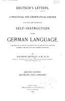 Deutsch's Letters