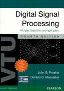 DIGITAL SIGNAL PROCESSING: PRINCIPLES ALGORITHMS AND APPLICATIONS