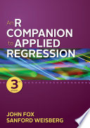 An R Companion To Applied Regression Book PDF