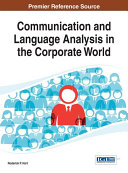 Communication and Language Analysis in the Corporate World Pdf/ePub eBook