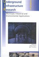 Underground Infrastructure Research