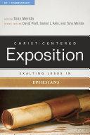 Exalting Jesus In Ephesians