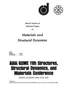 Bound Volume of Technical Papers on Materials and Structural Dynamics