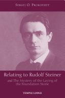 Relating to Rudolf Steiner