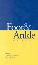 Foot   Ankle Manual Book