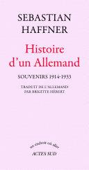 Pdf Histoire d'un Allemand
