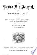 British Bee Journal & Bee-keepers Adviser