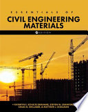 Essentials of Civil Engineering Materials