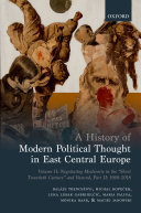 A History of Modern Political Thought in East Central Europe Pdf/ePub eBook