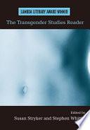 The Transgender Studies Reader Book