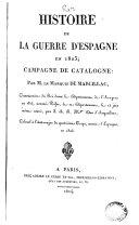 Histoire de la guerre d'Espagne en 1823