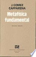 Metafísica fundamental