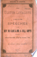 THe Ulster Loyalists Book