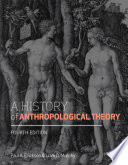 A History Of Anthropological Theory Fourth Edition