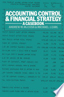 Accounting Control and Financial Strategy Book