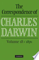 The Correspondence of Charles Darwin:  , Band 18;Band 1870