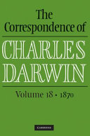 The Correspondence of Charles Darwin:
