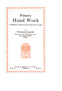 Primary Hand Work